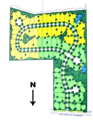 Norwest Meadows Lot Map